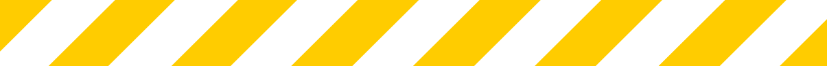 covid 19 banner stripes only